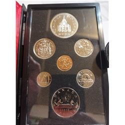 1976 Proof set with silver dollar