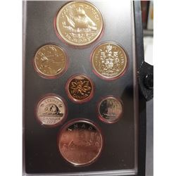 1979 Proof set with silver dollar