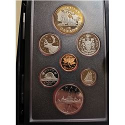 1981 Proof set with silver dollar
