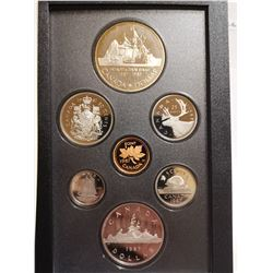 1987 Proof set with silver dollar