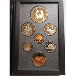 1988 Proof set with silver dollar