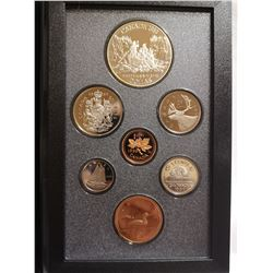 1989 Proof set with silver dollar