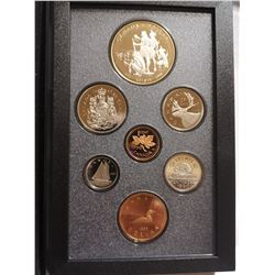 1990 Proof set with silver dollar