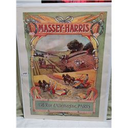 Massey Harris Paris 19 X 25, Orchard England print