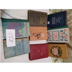 9 older books