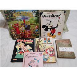 5 Children books & record