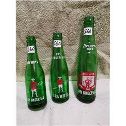 3 Drewery RCMP bottles