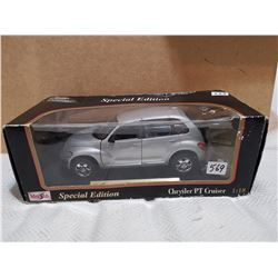 Special edition Chrysler PT cruiser, 1:18 scale