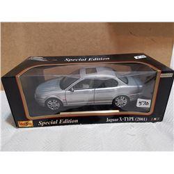 Special edition Jaguar X-type, 1:18 scale