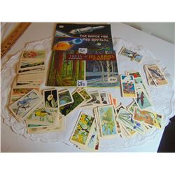 625 TWO FULL BROOKE BOND TEA CARD BOOKLETS & UNGLUED CARDS FOR OTHER BOOKLETS
