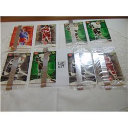 639 1999 POST CEREAL HOCKEY CARDS LOT OF 8