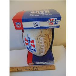 641SUPERBOWL XL 40TH FROM 2005 FOOTBALL WITH ORIGINAL BOX