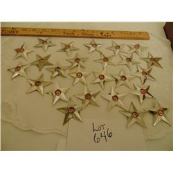 646 TWENTY FIVE STAR WHISKY STAR EMBLEMS