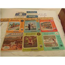 647 6 (3 REEL) 2 SINGLE REEL VINTAGE VIEWMASTER REELS