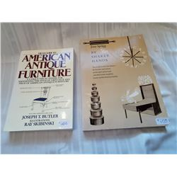 Resource books, American Antique Furniture & By Shaker Hands