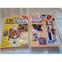 Schroeder's books, Collectible Toys and Country Antiques