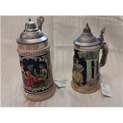 Beer steins made in Germany (2)