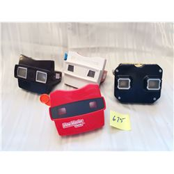 View Finders, 4 assorted