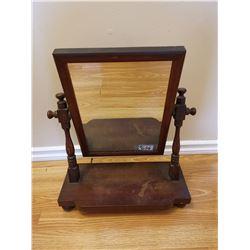 Gentleman's tabletop dressing stand