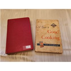 "Cookbooks, ""Five Roses"", and hardcover ""Magic Cookbook"", 1950"