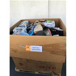 Contents of Large Tri-Wall Box: Mixed Misc. Merchandise