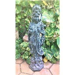 Standing Quan Yin Statue 11'' x 11'' x 41'' Tall