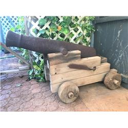 Cannon Reportedly from War of Independence (1775-1783)