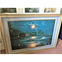 """Lahaina Starlight"" Ltd. Ed. 20 of 475 Fine Art Print by Artist Christian Riese Lassen 47""x35''"