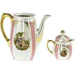 Ava Gardner Owned Teapot and Cream Pitcher.
