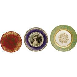 Ava Gardner Owned Wall Plates.