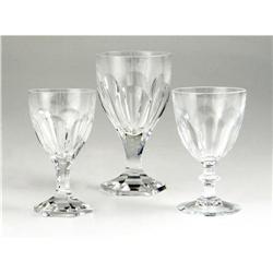 Ava Gardner Crystal Goblets.