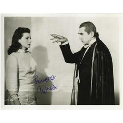 Lenore Aubert Signed Photo.