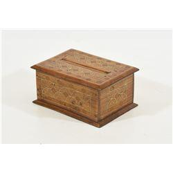 Wooden Mystery Cigarette Box