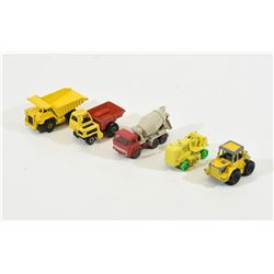 Box Lot 1:64th Scale Construction Equipment Toys