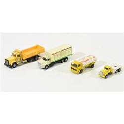Mixed Lot Small Trucks