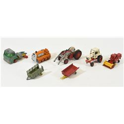 7 1:64th Scale Vehicles