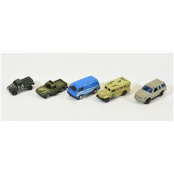 Mixed Lot of Small Die-Cast Cars