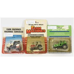 Mixed Lot 1:64 Scale Tractors