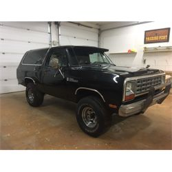LIFTED RESERVE AND SELLING! 1981 DODGE RAMCHARGER PROSPECTOR CUSTOM 150