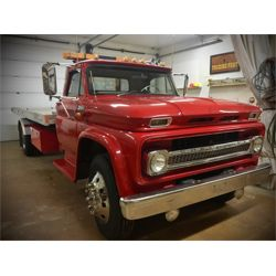 RESERVE LIFTED AND SELLING! 1965 CHEVROLET C60 TOW TRUCK