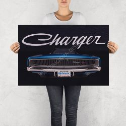 """NO RESERVE LIMITED EDITION PRINT """"THE CHARGER"""""""