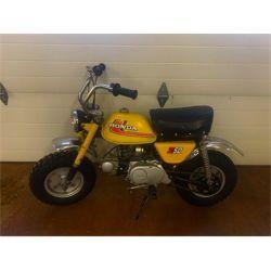 NO RESERVE 1976 HONDA Z50