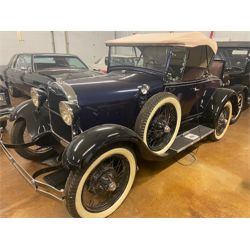 1929 MODEL A ROADSTER WITH RUMBLE SEAT