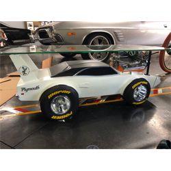 1970 PLYMOUTH SUPERBIRD CUSTOM FABRICATED MOPAR MUSCLE CAR TABLE
