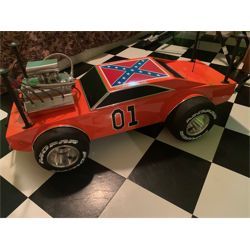 1969 DODGE CHARGER GENERAL LEE #01 CUSTOM FABRICATED MOPAR MUSCLE CAR TABLE