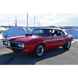 RESERVE LIFTED AND SELLING! 1968 PONTIAC FIREBIRD