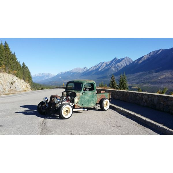 LIFTED RESERVE AND SELLING! 1937 FORD F150 RAT ROD