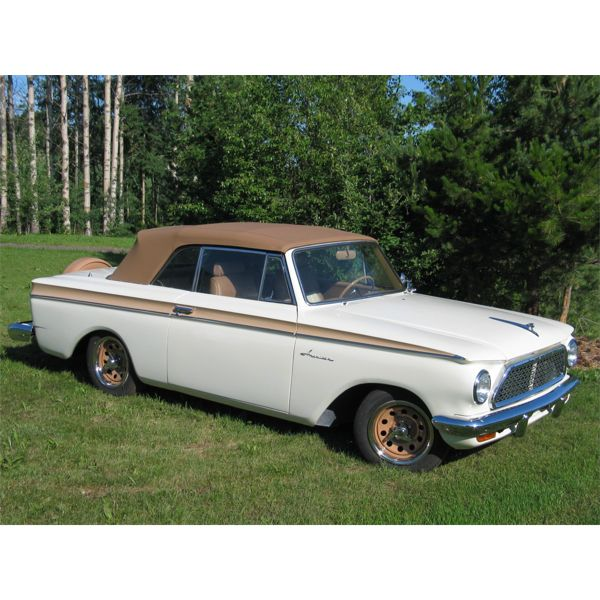 RESERVE LIFTED AND SELLING! 1961 RAMBLER AMERICAN CONVERTIBLE