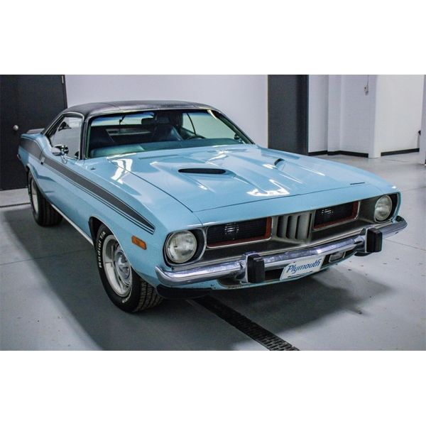 LIFTED RESERVE AND SELLING! 1973 PLYMOUTH BARRACUDA 2 DOOR HARDTOP