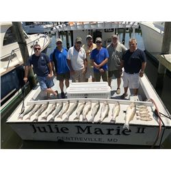Chesapeake Bay Fishing Trip for Six